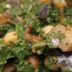 Spinazie-aubergine-kikkererwtencurry