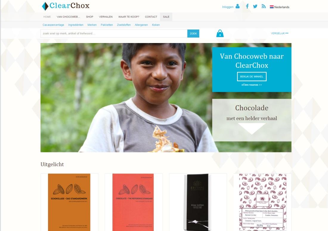 ClearChox - afbeelding website