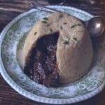Vleespastei (beef pudding)