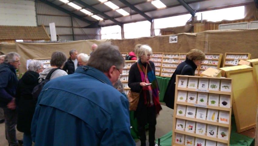 Groenmoesmarkt 2017 – Zaden bij Peter en Kathelijne