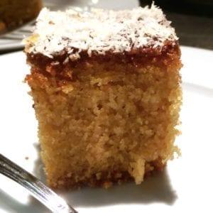 Griesmeel-yoghurtcake