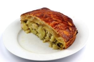 Leek and potatoe pie 5