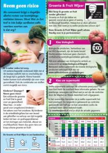 Groente en fruitwijzer