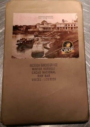 chocoladetaart - blok 100 procent Rancho Grande