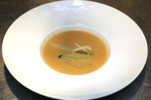 Zuppa fredda di cetrioli - bord soep 2