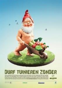 Naakte kabouter_Durf tuinieren zonder
