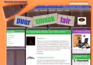 De beste chocolade - website