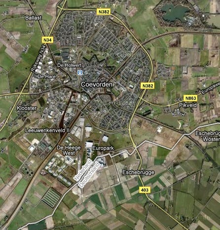 Ze gaan naar Coevorden - Coevorden detail