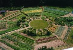 Ommuurde tuin - cirkel