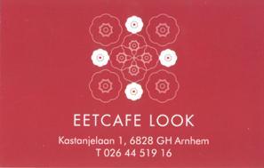 Look - een bijzonder restaurant - kaartje voor