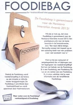 Horecava 2013 - foodie bag