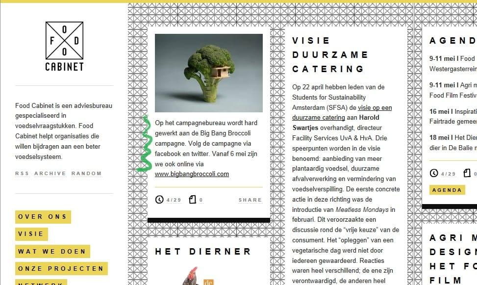 Big Bang Broccoli - scherm