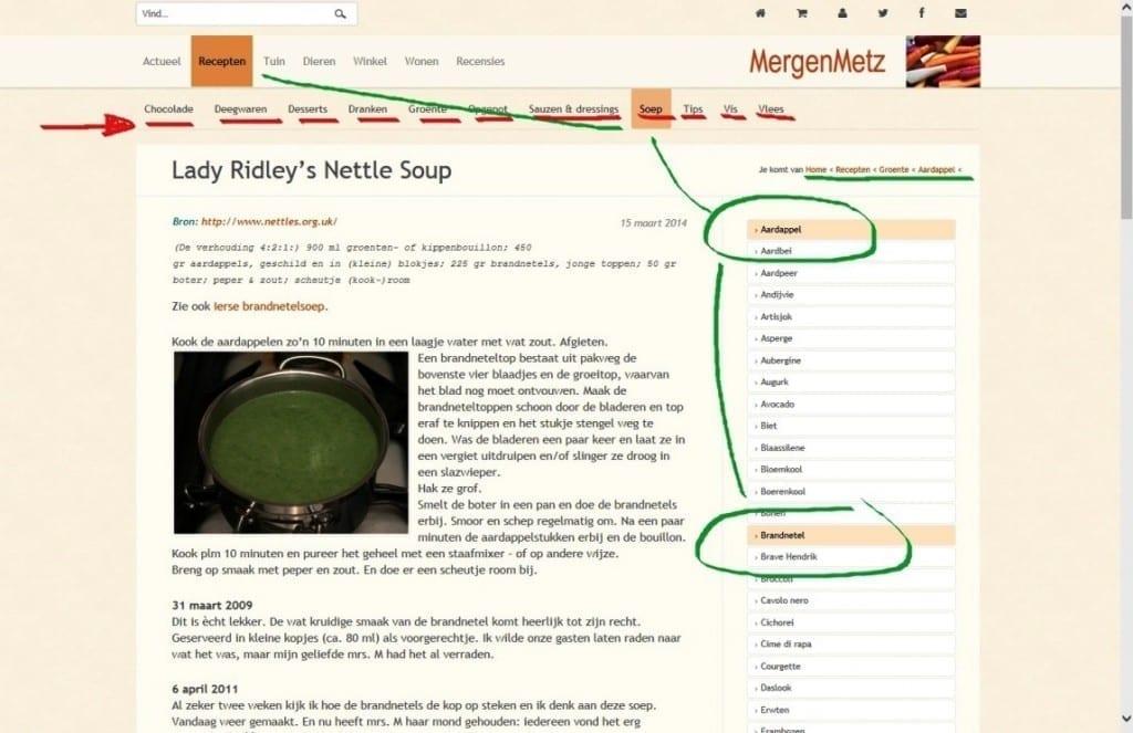 Een nieuwe lente en een nieuwe site - recepten