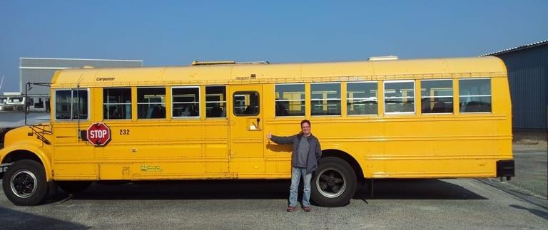 Foodbuzz - schoolbus