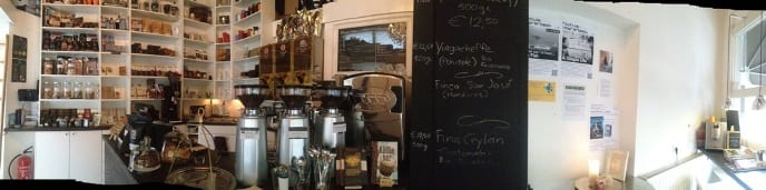 PUUR koffie - winkel