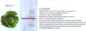 zaaiagenda groenlof