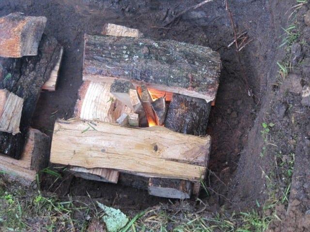 Barbecoa 3 – vuur aansteken