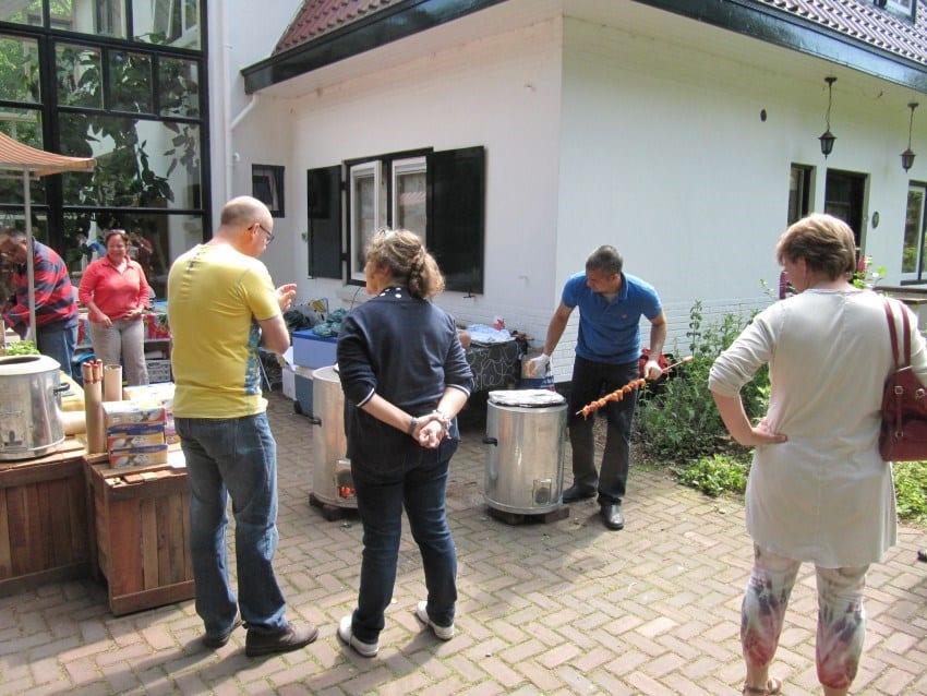 Belangstelling voor de tandoor-oven