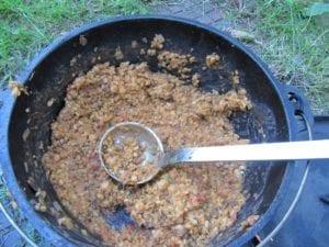 Pierce Street vegetarische chili 2