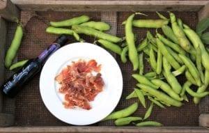 Tuinbonen met rauwe ham 5