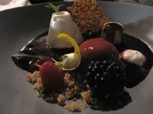 Boergondisch op 't Hof - dessert