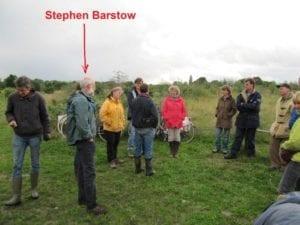 Stephen Barstow bij Ketelbroek