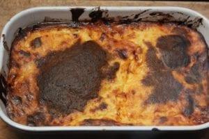 Moussaka - schaal uit de oven