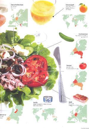 Salade als lunch 300x435