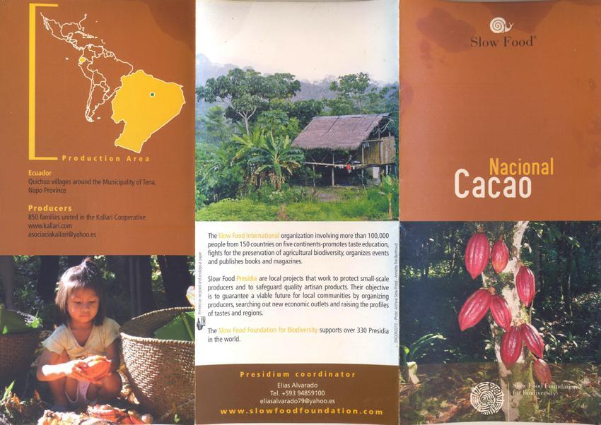 Liever Lokaal - cacao nacional