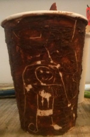 chocolate arte - beker 300x458