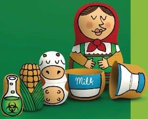 Gentech produkten in huismerken van Duitse supermarkten_poppetjes