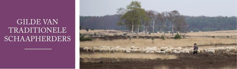 Gilde van Traditionele Schaapherders - brede banier