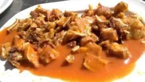 Uit eten in Spanje - Madrid - orejas
