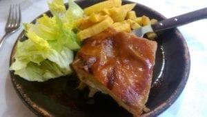 Uit eten in Spanje - Segiovia - cochinillo 2