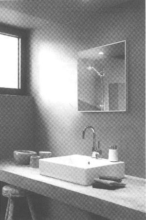 Infraroodpaneel in badkamerspiegel