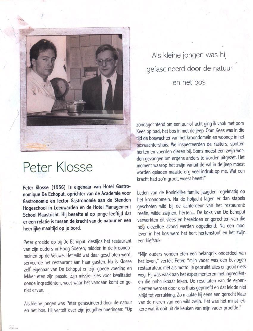 Toen was koken heel gewoon - Peter Klosse