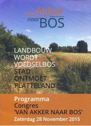 Van Akker naar Bos - brochure