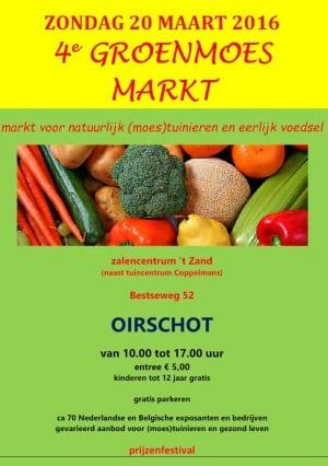 Groenmoes Markt 2015 - flyer