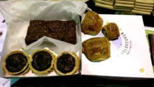 Onweerstaanbaar lekker van De Veldkeuken, met Kuná chocolade.