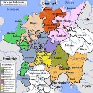 Kleine geschiedenis - Heilige Roomse Rijk