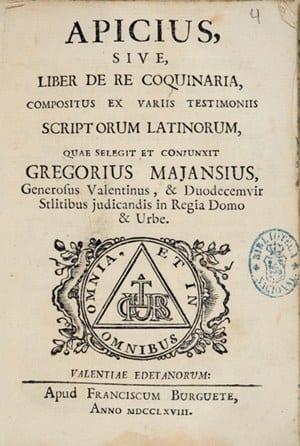 Het Romeinse kookboek van Apicius