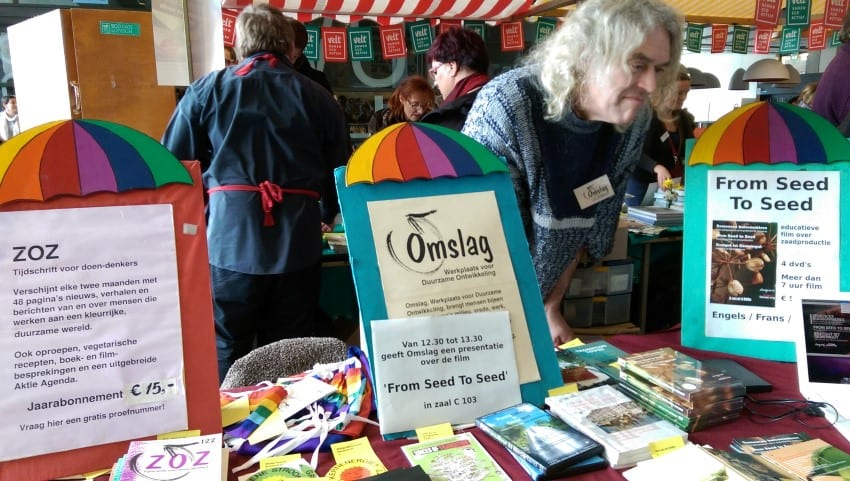 Reclaim the Seeds 2016 – Omslag