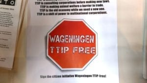 Reclaim the Seeds 2016 - TTIP