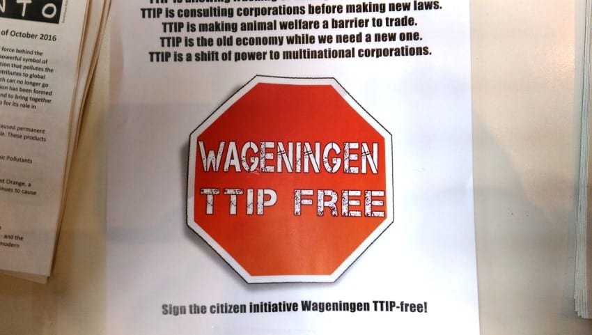 Reclaim the Seeds 2016 – TTIP