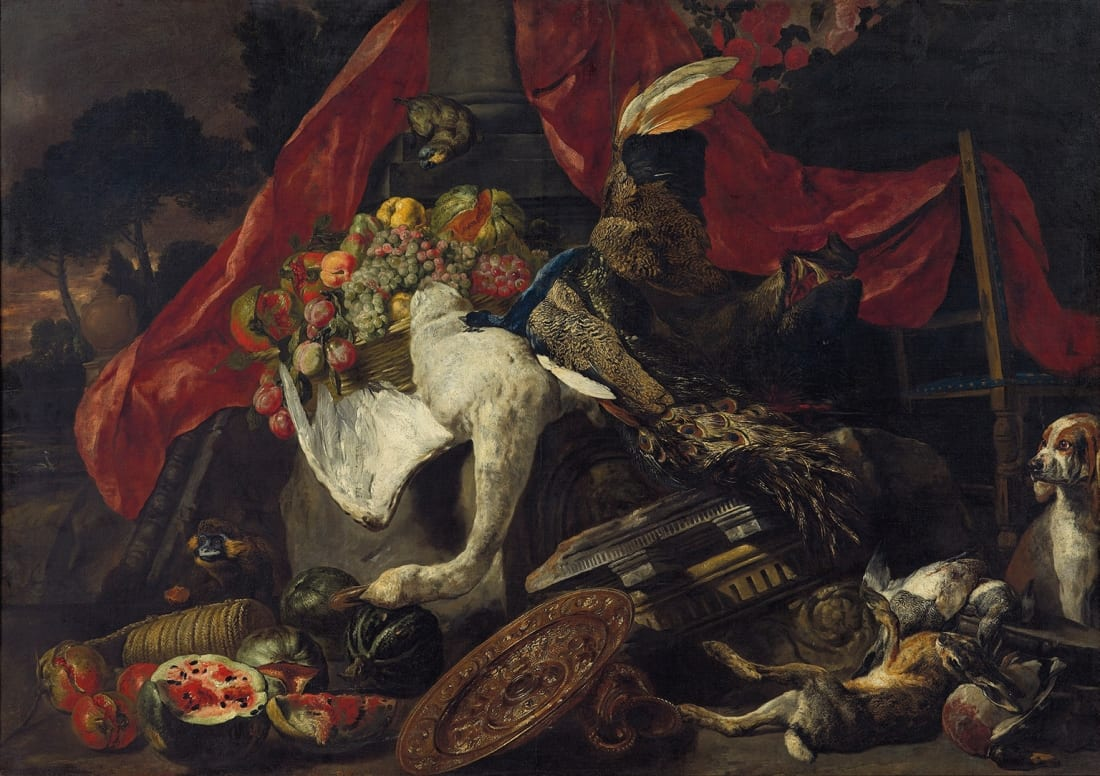 Pieter Boel (1622-1674) - Vanitastafereel