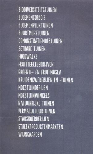 Groen en smakelijk - lijst