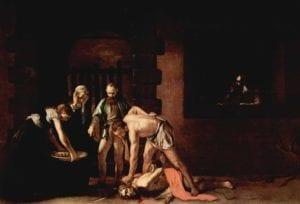 Schilderij Michelangelo Caravaggio