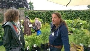 Anthonetta in gesprek met Peter Vanlaerhoven