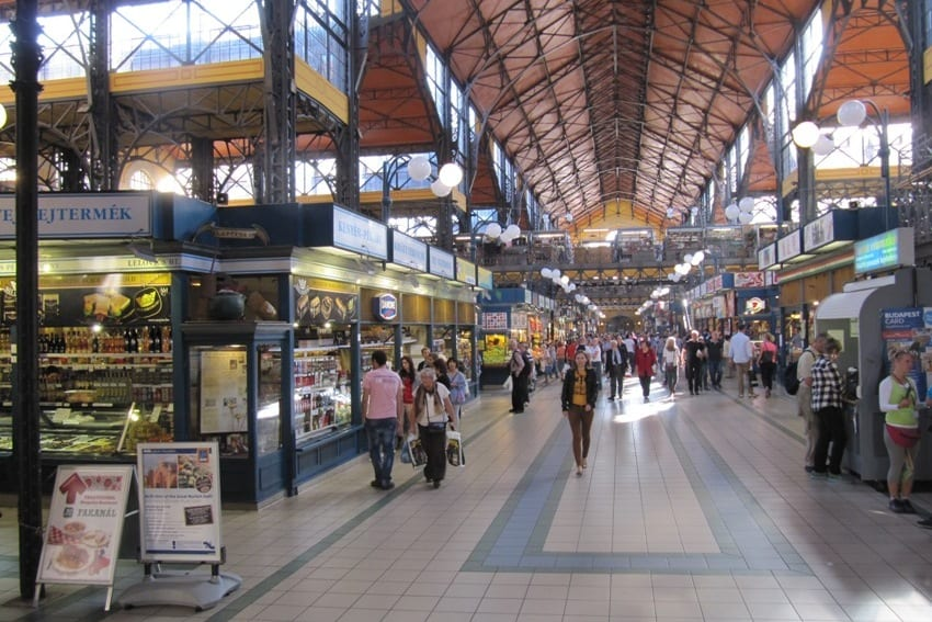 Markthal Boedapest (HU)