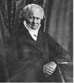 Humboldt - Daguerreotypie (soort foto) 1847